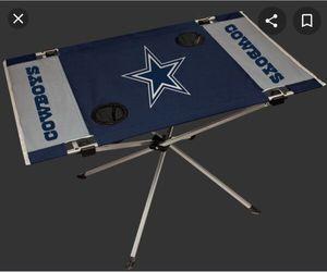 Photo Dallas Cowboys Endzone Table $20