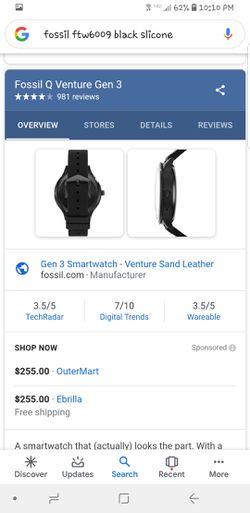 Fossil smart watch Thumbnail