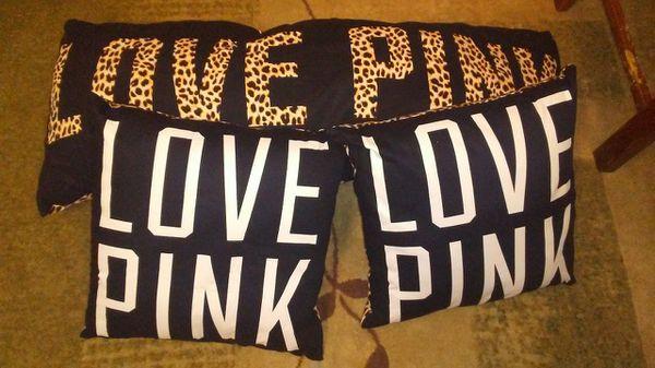 Victoria S Secret Pink Leopard Body Pillow Throw Pillows Vs