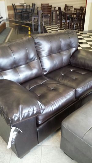 Alliston Chocolate Sofa Set By Ashley For In Fayetteville Nc