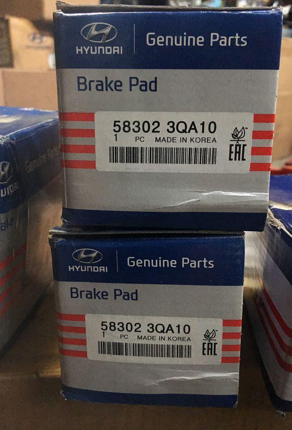 Brand new Hyundai rear brake pads Oem, Sonata, Azera ...