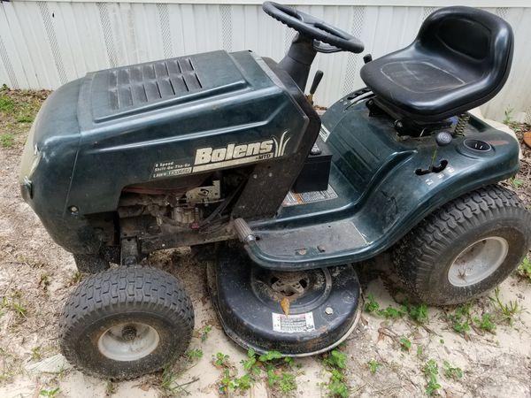 Bolens riding mower 38in cut for Sale in Wilmer, AL - OfferUp