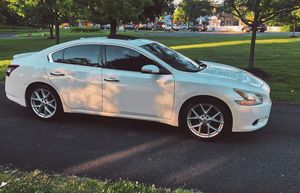 Photo White Color 2010 Nissan Maxima SV LImited