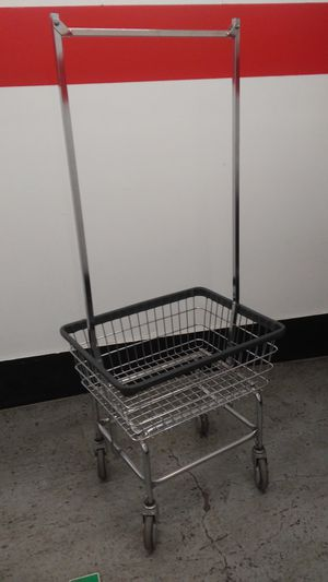 Coin Laundry Rolling Basket for Sale in Denver, CO