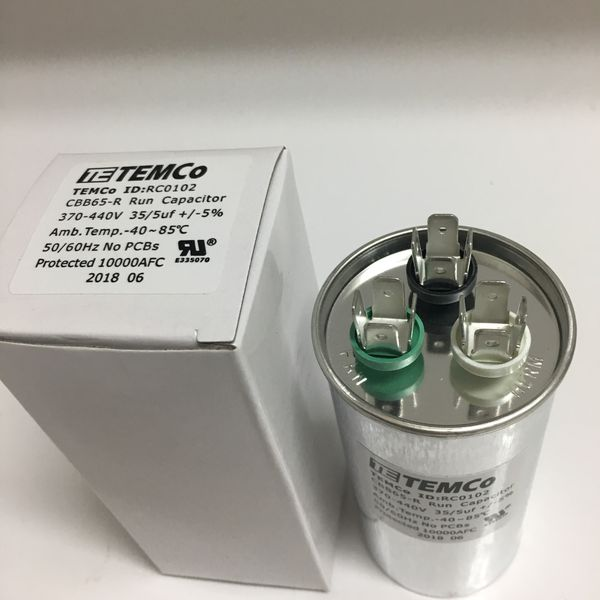 New 35/5 MFD uF Dual Run Capacitor for Sale in Tampa, FL - OfferUp