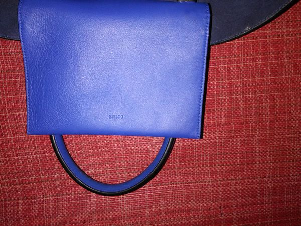 c52ec6ec8cfd Givenchy blue lambskin medium easy tote bag 3C1113 (Clothing   Shoes) in  Seattle