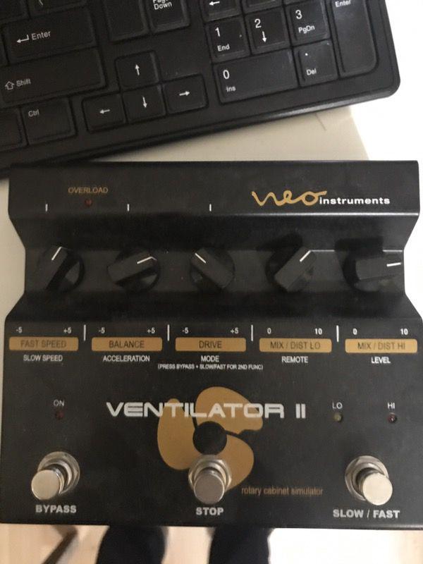 leslie simulator pedal for keyboard