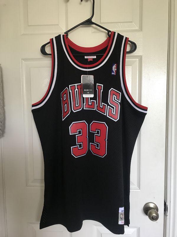 "wholesale dealer 2003c 490b6 Mitchell & Ness "" Scottie Pippen"" jersey for Sale in Garden Grove, CA -  OfferUp"