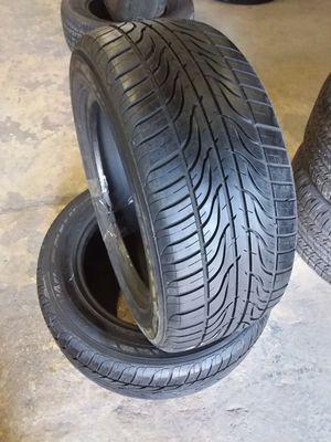 2 Hankook Ventus V4es Tires ~ 225/55R16 ~ Used ~ $130 for Sale in Orlando, FL