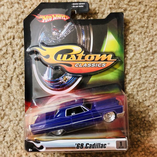 "Hot Wheels ""Custom Classics"" '68 Cadillac For Sale In San"