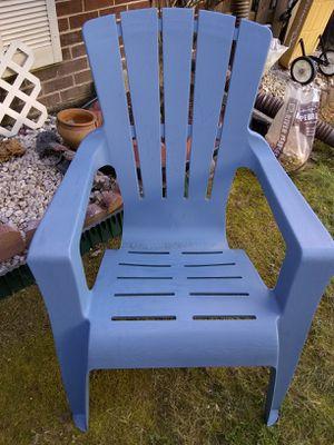 Plastic chair for Sale in Alexandria, VA