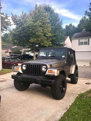 2003 jeep wrangler tj (automatic) for Sale in Fort Washington, MD