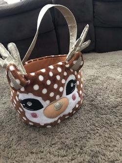 0-6month baby fawn costume/dear candy bucket Thumbnail