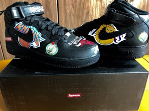 Supreme x Nike x NBA Teams Air Force 1 Mid (Size 11) for Sale in San Diego, CA