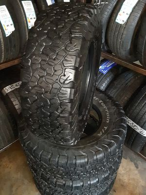 Photo Semi new tires set Bfgoodrich 265 75 16Lt
