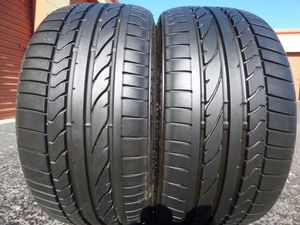 225/35/19 BRIDGESTONE POTENZA RE050A 99% TREAD TAKE OFFS for Sale in Tampa, FL
