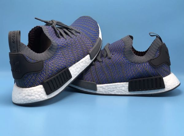 e3305252954 Adidas NMD R1 STLT PK Mens SZ 11.5 CQ2388 HiRes Blue Primeknit Retail  Price 170 for Sale in Miami