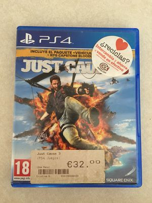 Just Cause 3 - PS4 for Sale in Arlington, VA