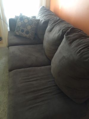 Brown sectional couch for Sale in Alexandria, VA