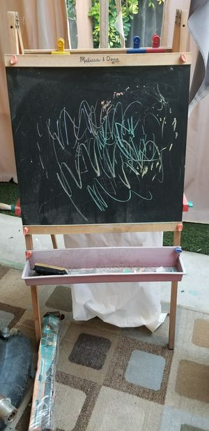 Melissa and Dough art and chalk board easel for Sale in Long Beach, CA