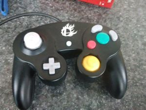 Nintendo Super Smash Bros. Black Classic Gamecube Controller for Sale in Washington, DC