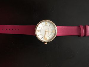 Michael Kors Leather Band Watch for Sale in Owings Mills, MD