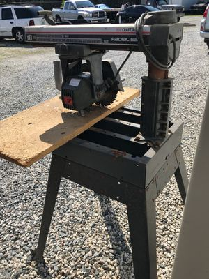 Craftsman Radial Saw for Sale in Apopka, FL