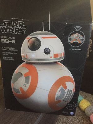 Star Wars BB-8 ROBOT DROID brand new never used comes with everything 200$ negoitable for Sale in Silver Spring, MD