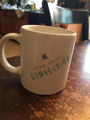 Apple user group connection collectable mug for Sale in Fairfax, VA