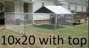 New 10x20x6 dog kennel pen (Pet Supplies) in Raleigh, NC ...