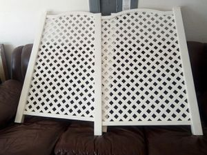 Photo Grab n go fence lattice decorative