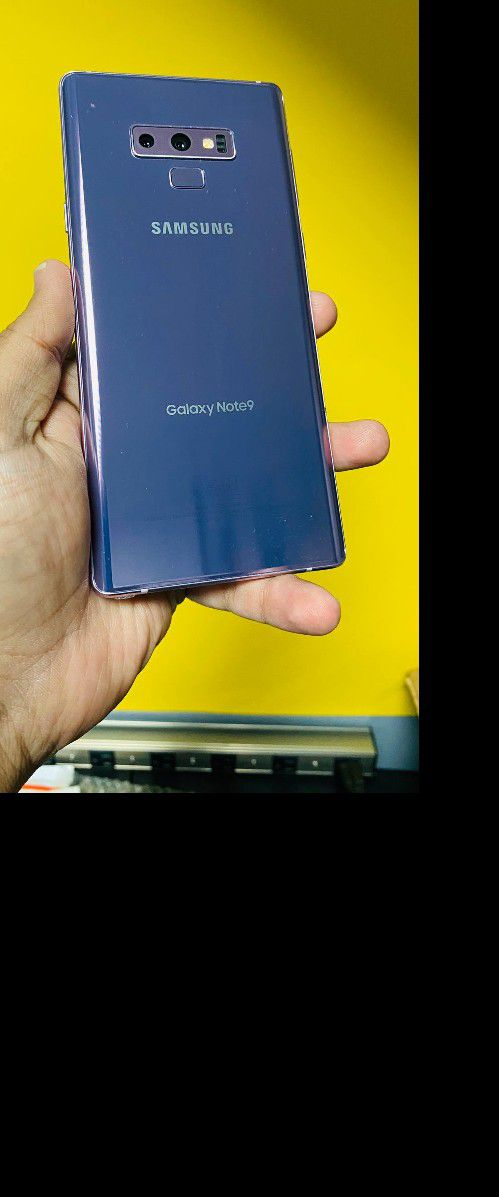 Note 9 128gb Purple for Tmobile And Metro (Finance for $50 down no credit needed take home today) $349