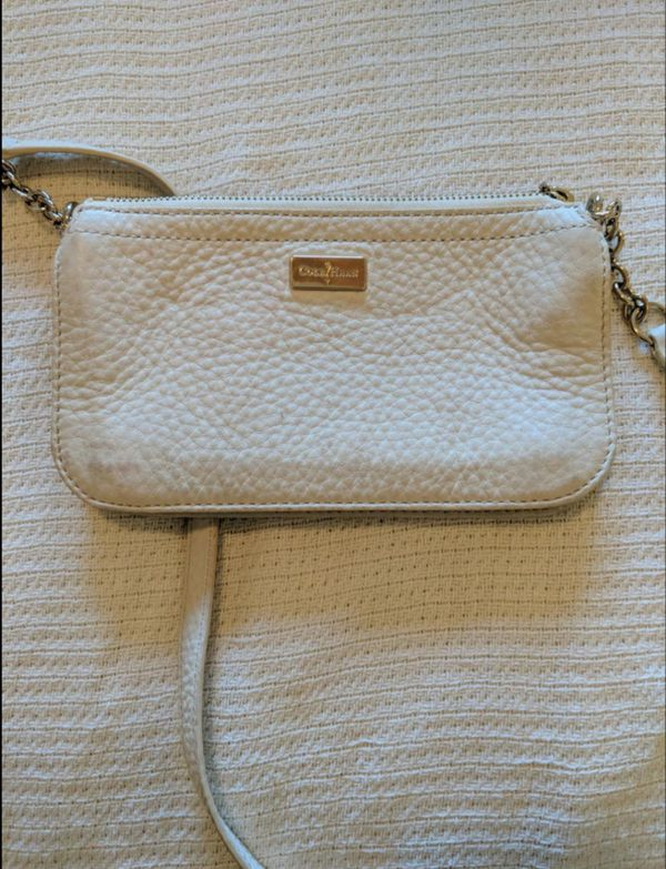 d8f7a384be Cole Haan White Body Strap Purse for Sale in San Diego, CA - OfferUp