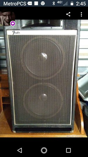 Fender Subwoofer/pa amp., used for sale  Wichita, KS