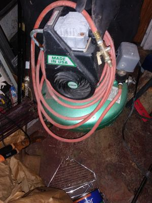 INDUSTRIAL AIR COMPRESSOR/ NAIL GUN FOR SALE!!!! for Sale in Upper Marlboro, MD