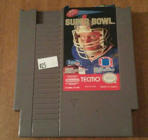 Super Bowl Tecmo Nes Nintendo video game for Sale in Columbus, OH