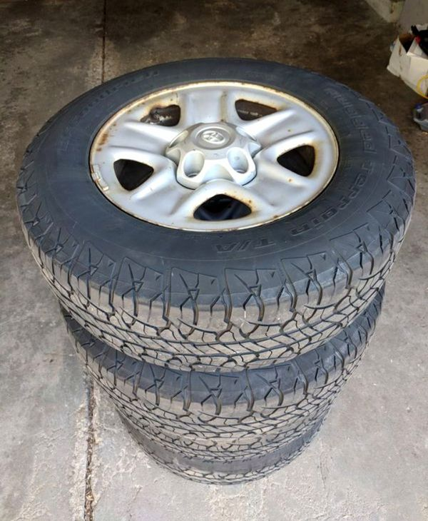 2010 Toyota Tundra Four Rims And Tires For Sale In