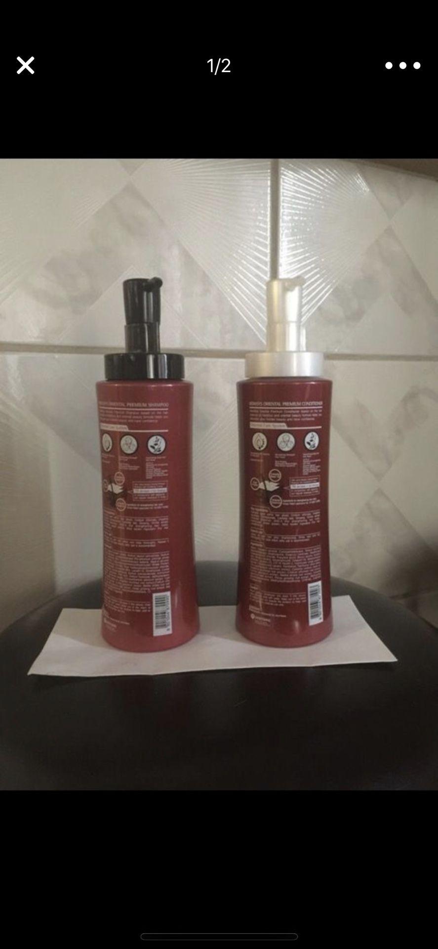 Kerasys oriental shampoo and conditioner