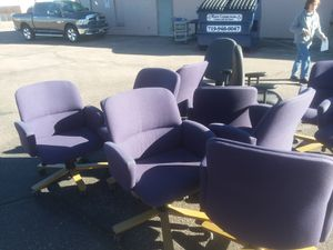12 office chairs for Sale in Pueblo, CO