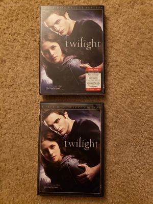 Twilight 3-Disc Deluxe Edition DVD for Sale in Lanham, MD