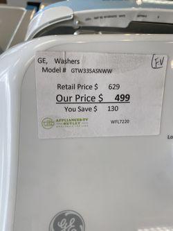 GE Gas Dryer & Washer Set  Thumbnail