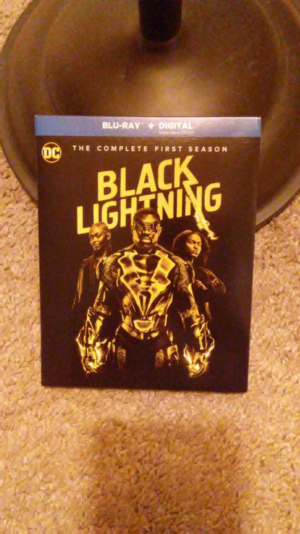Black Lightning season one blu-ray for Sale in Imperial Beach, CA - OfferUp