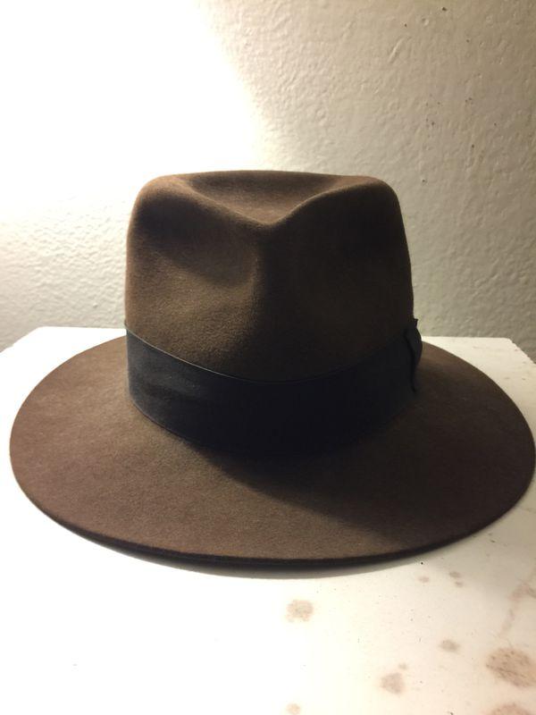 d3b0a9e419726 discount code for borsalino classic fedora hat black 61 c8a97 5a51b  ebay  australia herbert johnson indiana jones hat for sale in santa ana ca  offerup 71c30 ...