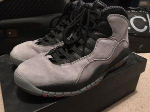"""Air Jordan Retro 10 """"Cool Grey"""" for Sale in Newark, CA"""