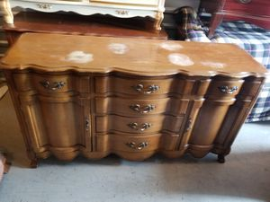 French Provencial Server, buffet, dresser, console table for Sale in Chantilly, VA