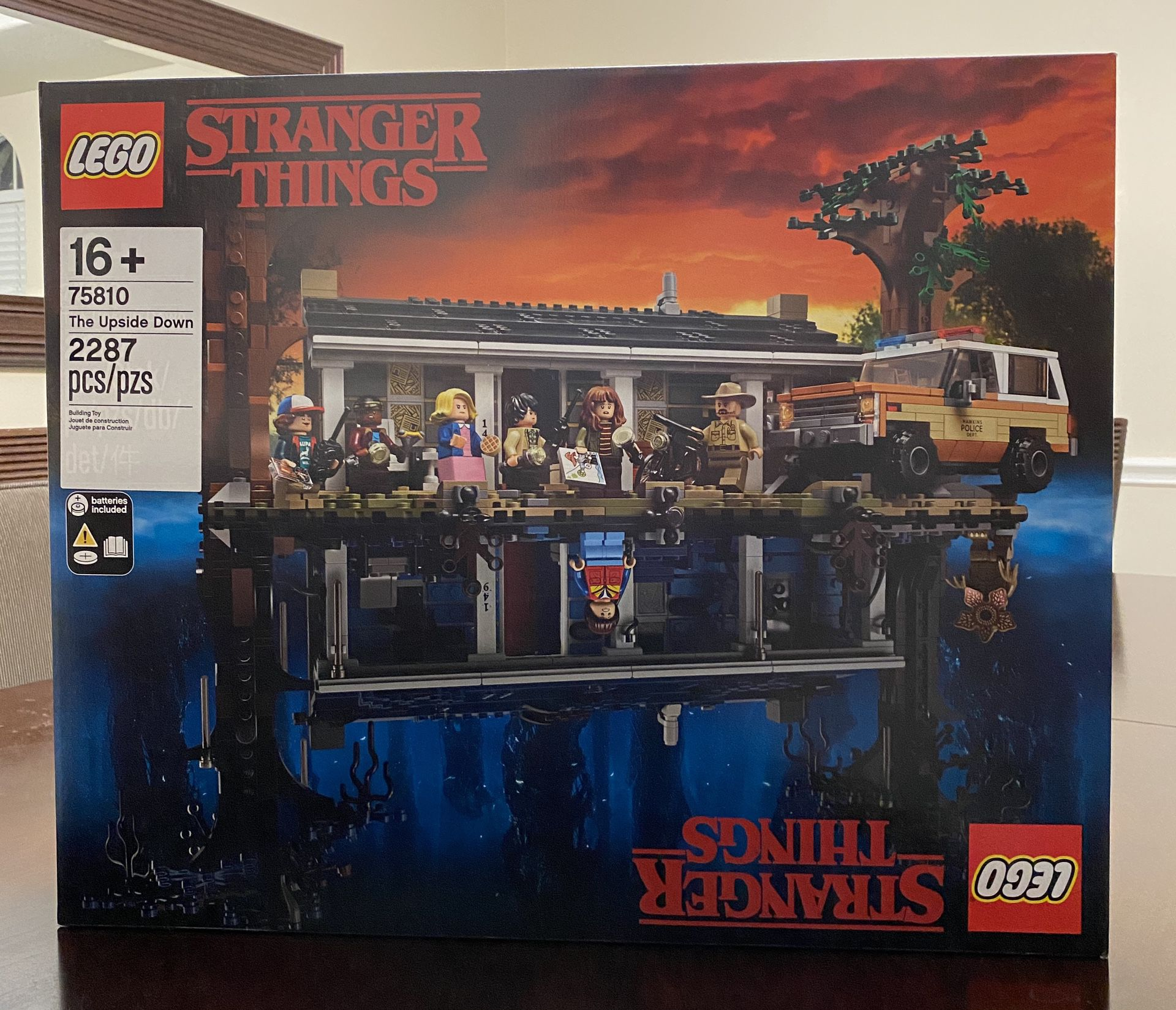 Stranger Things upside down LEGO Collection