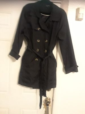 Black trench woman size 1x for Sale in Washington, DC