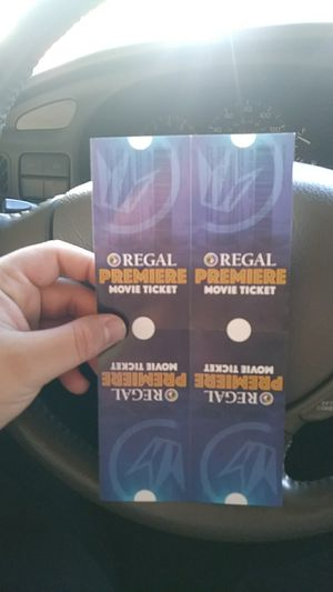 4 movie tickets for Sale in Lemon Grove, CA