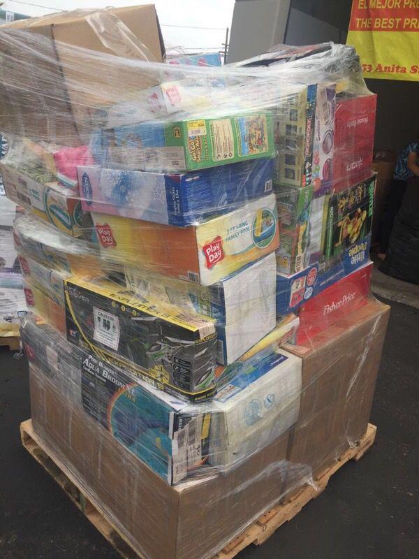 WHOLESALE WALMART GENERAL MERCHANDISE PALLETS for Sale in San Diego, CA -  OfferUp