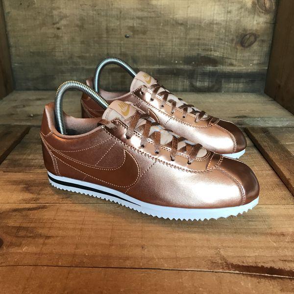 4c38c55bd155f Nike Cortez Bronze NEW Size 6Y Women s 7.5 for Sale in Portland ...